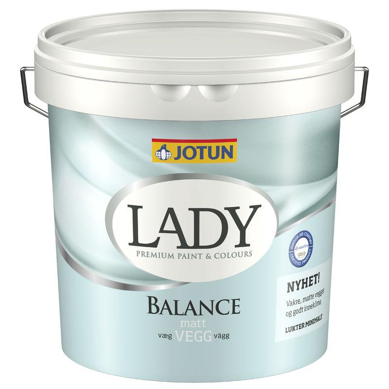 Lady vægmaling