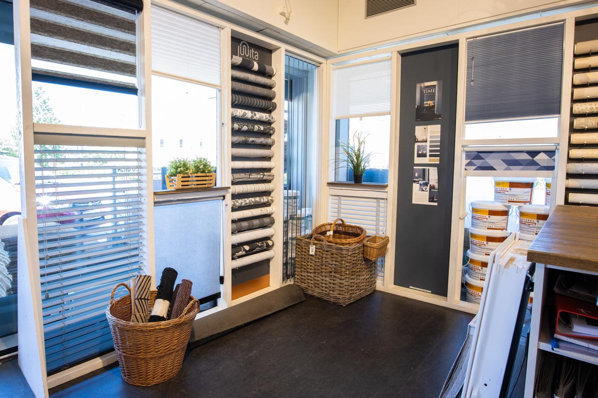Hørsholm Farvecenter - billeder fra butikken