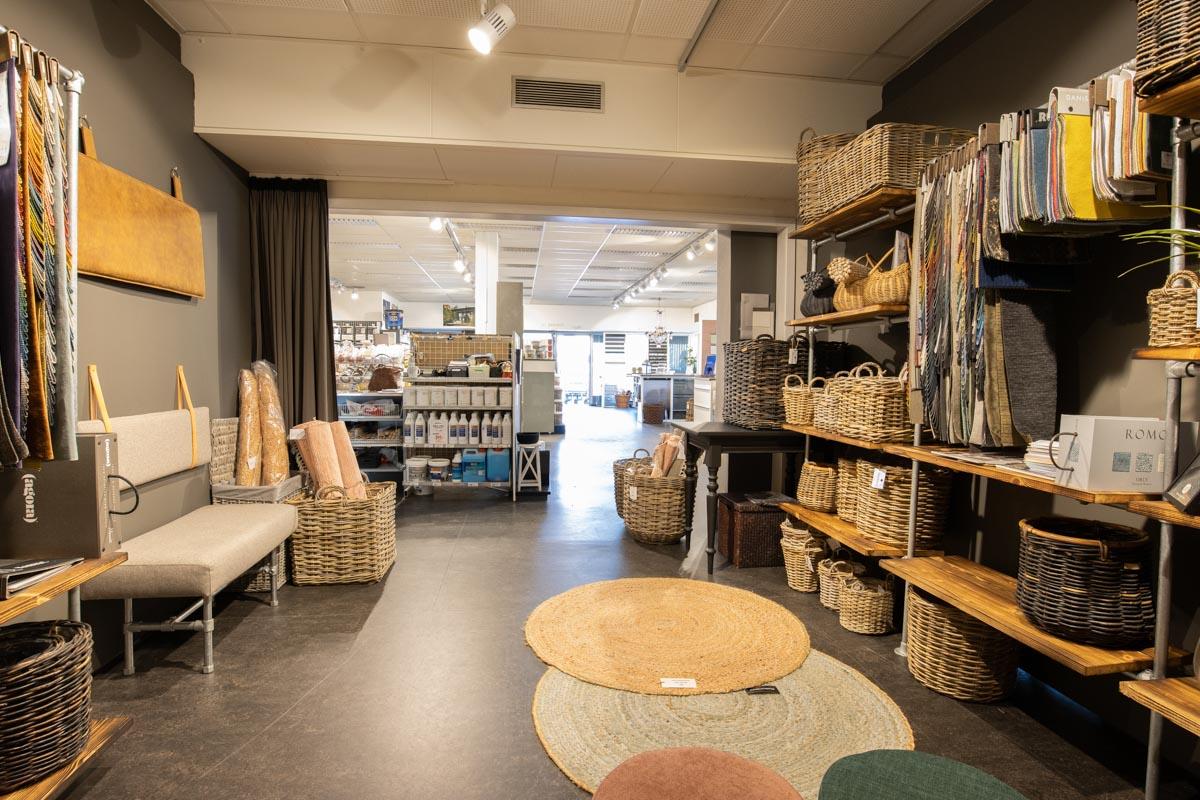 Showroom Skumfabrikken i Hørsholm Farvecenter